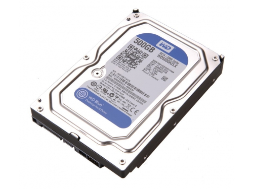 ������� ���� Western Digital Blue WD5000AZLX (500 Gb, 3.5'', SATA3, 7200rpm), ��� 6