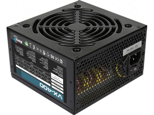 Блок питания AeroCool VX400 400W (ATX12V 2.3), вид 1