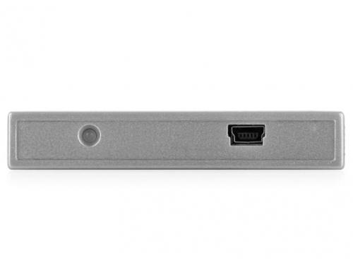 Корпус для жесткого диска AgeStar SUB2S (SATA - USB 2.0, 2.5''), чёрный, вид 3