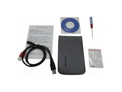 Корпус для жесткого диска AgeStar SUB2O5 (внешний, SATA / mini-USB), вид 3