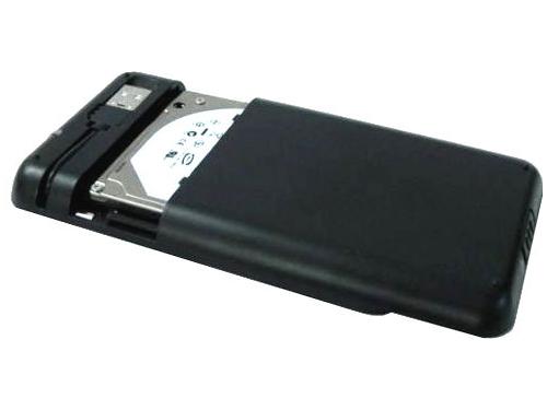Корпус для жесткого диска AgeStar SUB2A8 (SATA - USB2.0, 2.5''), чёрный, вид 3