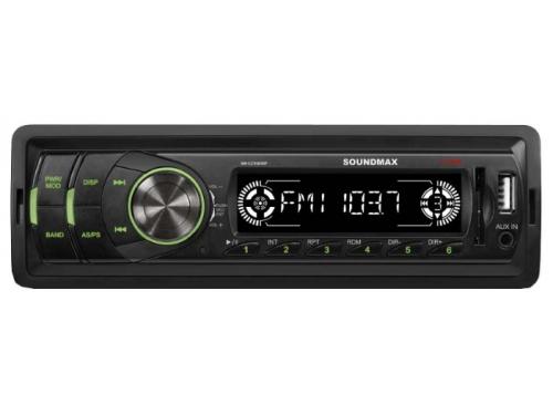 Автомагнитола SoundMax SM-CCR3050F Bl/G, вид 1
