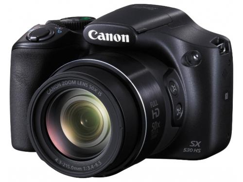 Цифровой фотоаппарат Canon PowerShot SX530 HS Black, вид 1
