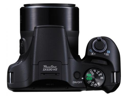 Цифровой фотоаппарат Canon PowerShot SX530 HS Black, вид 3