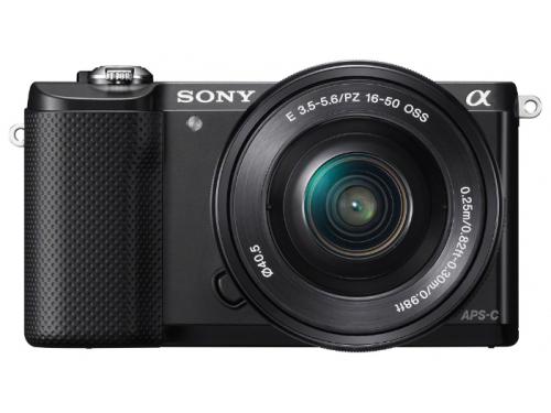 Цифровой фотоаппарат Sony Alpha 5000 kit черный, вид 3