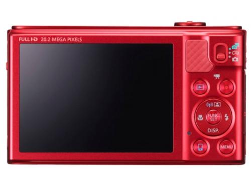 Цифровой фотоаппарат Canon PowerShot SX610HS красный, вид 2