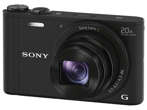 Цифровой фотоаппарат Sony Cyber-shot DSC-WX350 черный, вид 1