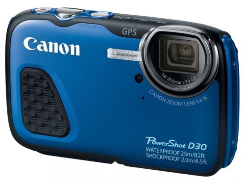 Цифровой фотоаппарат Canon PowerShot D30, вид 2