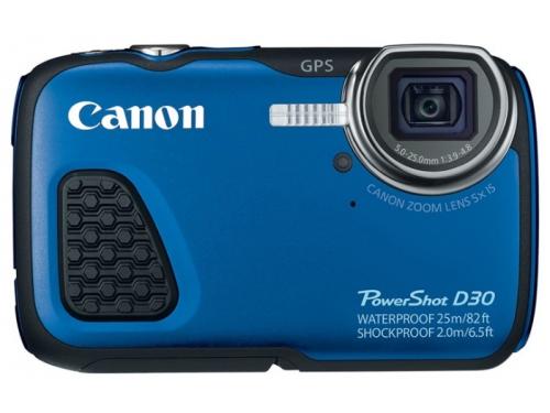 Цифровой фотоаппарат Canon PowerShot D30, вид 1