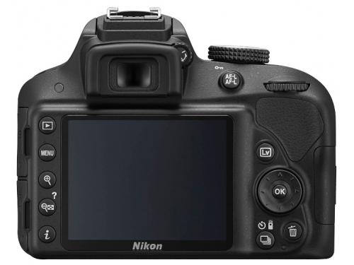 Цифровой фотоаппарат Nikon D3300 KIT (AF-P DX 18-55mm VR), черный, вид 2