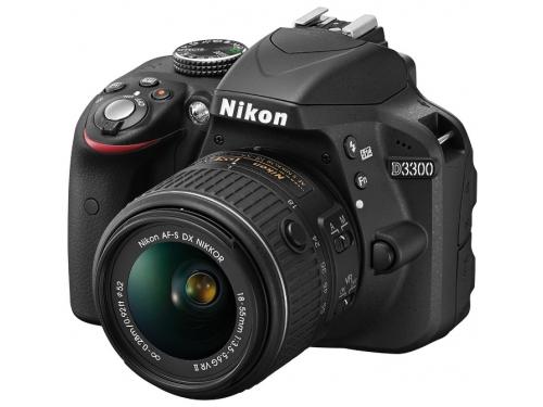 Цифровой фотоаппарат Nikon D3300 KIT (AF-S DX 18-105mm VR), вид 1