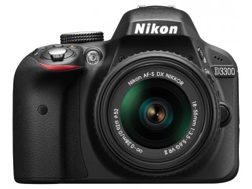 Цифровой фотоаппарат Nikon D3300 KIT (AF-S DX 18-105mm VR), вид 4