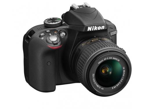Цифровой фотоаппарат Nikon D3300 KIT (AF-S DX 18-105mm VR), вид 5