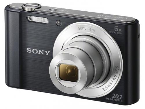 Цифровой фотоаппарат Sony Cyber-shot DSC-W810 Black, вид 1