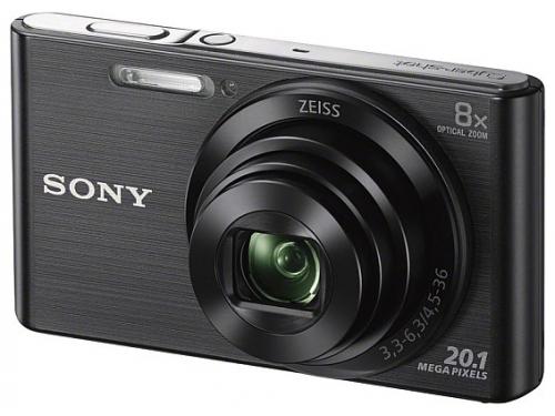 Цифровой фотоаппарат Sony Cyber-shot DSC-W830 Black, вид 1