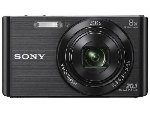 Цифровой фотоаппарат Sony Cyber-shot DSC-W830 Black, вид 3