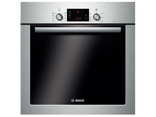 Духовой шкаф Bosch HBG23B350R серебристый, вид 1