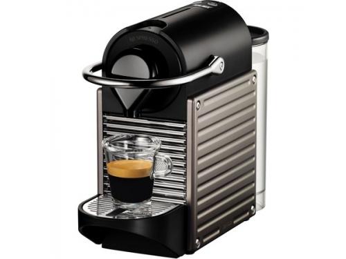 Кофемашина Nespresso Pixie Bundle C60 (капсульная), вид 1