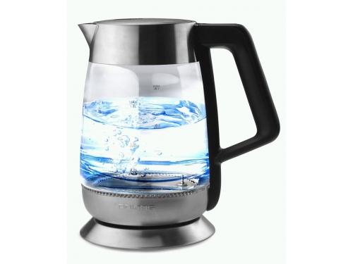 Чайник электрический Polaris PWK 1838CGLD, черный, вид 3