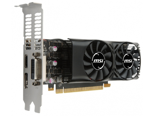 Видеокарта GeForce MSI GeForce GTX 1050 (2GT LP), вид 3