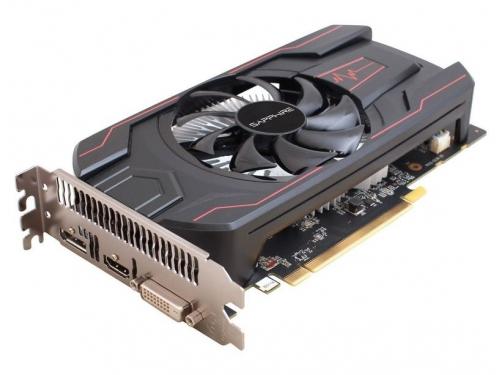 Видеокарта Radeon Sapphire PULSE Radeon RX 560 4GD5 (45W) 128bit, DVI-D + HDMI + DP, 11267-01-20G, вид 3