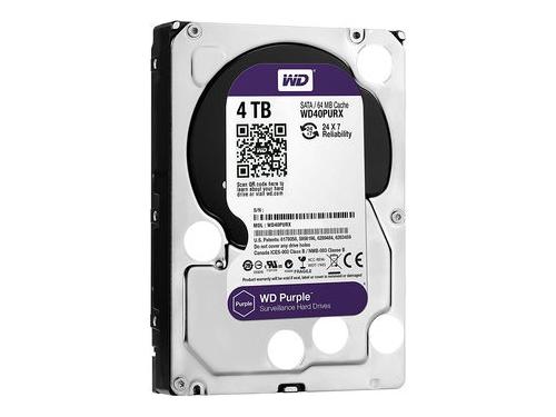 Жесткий диск Western Digital WD40PURZ Purple 4 TB, вид 1