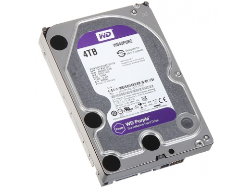 Жесткий диск Western Digital WD40PURZ Purple 4 TB, вид 3