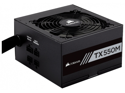 Блок питания Corsair TX550M 80 Plus Gold 550W, вид 1