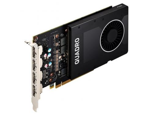 Видеокарта профессиональная Pny Quadro P2000 (VCQP2000BLK-1) 3.0 5120Mb 160 bit HDCP GDDR5, 160 bit, 4xDP, вид 1