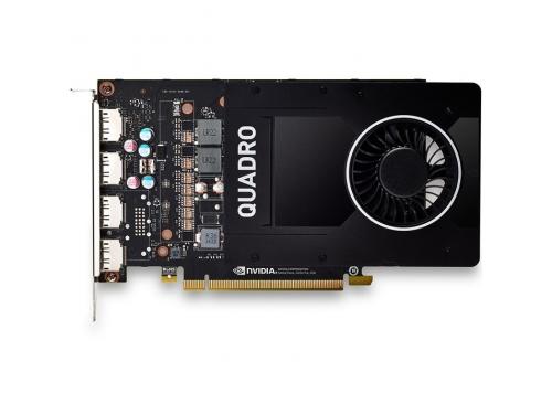 Видеокарта профессиональная Pny Quadro P2000 (VCQP2000BLK-1) 3.0 5120Mb 160 bit HDCP GDDR5, 160 bit, 4xDP, вид 4