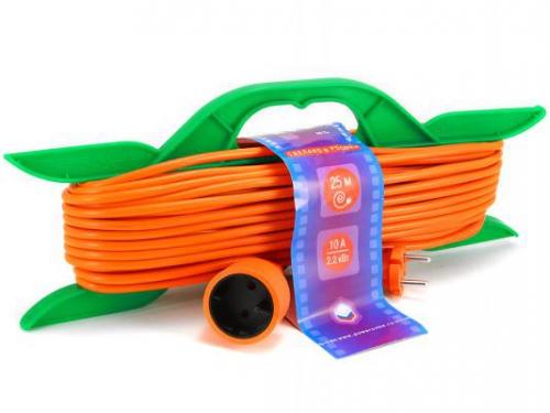 Кабель (шнур) PowerCube PC-B1-R-25 (удлинитель) оранжевый, вид 1