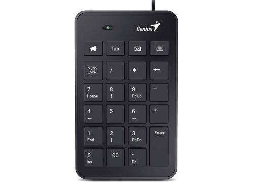 Клавиатура Цыфровой блок Genius Numpad i120 черный, вид 1