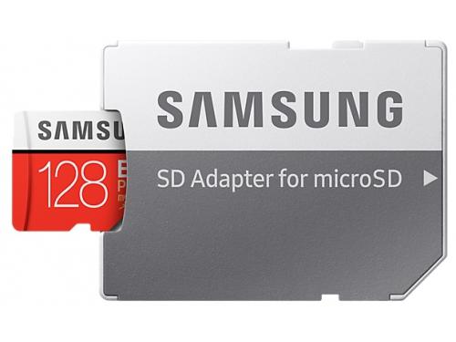Карта памяти Samsung MB-MC128GA/RU EVO Plus v2 128Gb (с адаптером), вид 1