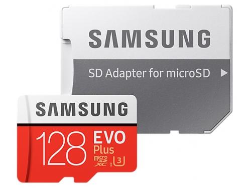 Карта памяти Samsung MB-MC128GA/RU EVO Plus v2 128Gb (с адаптером), вид 3
