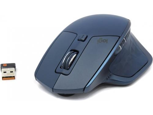Мышь Logitech MX Master 2S, бирюзовая, вид 1