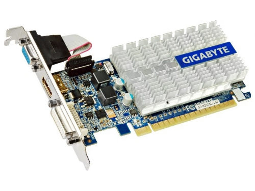 Видеокарта GeForce Gigabyte  GeForce 210 1Gb, вид 2