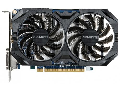 Видеокарта GeForce GIGABYTE GeForce GTX 750 Ti 1059Mhz PCI-E 3.0 4096Mb 5400Mhz 128 bit 2xDVI 2xHDMI HDCP (GV-N75TWF2OC-4GI), вид 1