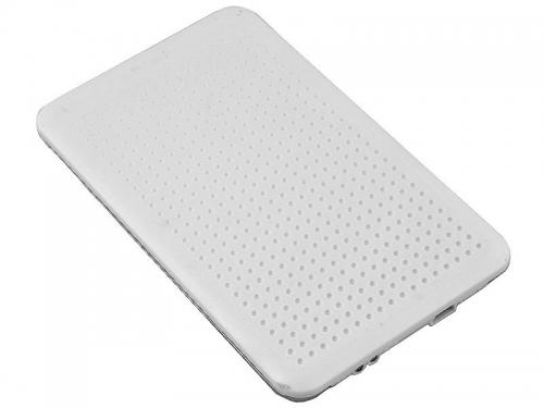 Корпус для жесткого диска AgeStar SUB2O7 (2.5'', mini-USB 2.0), белый, вид 1
