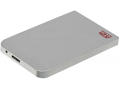 Корпус для жесткого диска AgeStar 3UB2O1 (2.5'', microUSB 3.0), серебристый, вид 1