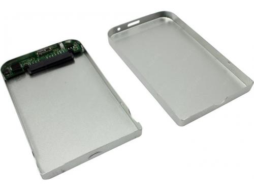 Корпус для жесткого диска AgeStar 3UB2O1 (2.5'', microUSB 3.0), серебристый, вид 2