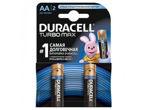��������� Duracell Turbo Max (LR6-2BL), AA, 2 ��., ��� 2