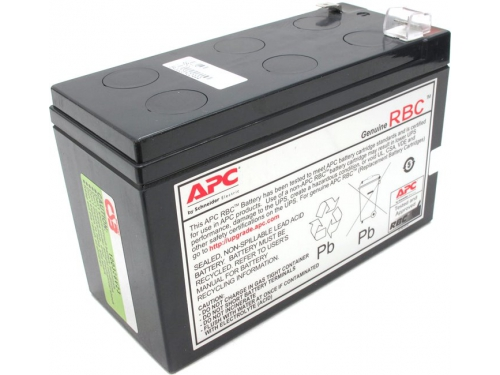 Источник бесперебойного питания Батарея аккумуляторная APC APCRBC106 (12 В, 6 Ah), вид 1
