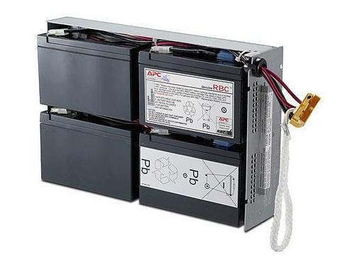 Батарея аккумуляторная для ИБП APC RBC24 (12 В, 4x 9Ач), вид 1