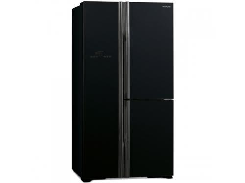 Холодильник Hitachi R-M 702 PU2 GBK черный, вид 1