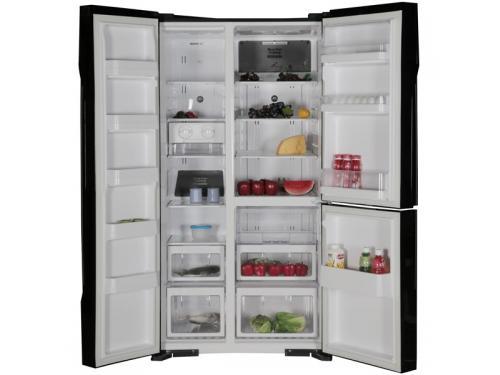 Холодильник Hitachi R-M 702 PU2 GBK черный, вид 2