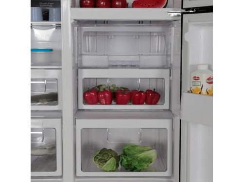 Холодильник Hitachi R-M 702 PU2 GBK черный, вид 3