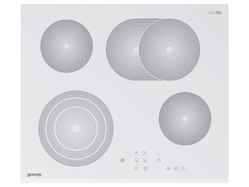 Варочная поверхность Gorenje ECT680ORA-W белая, вид 1