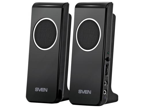 Компьютерная акустика Sven 314, 2.0, черный, 4Вт, вид 1