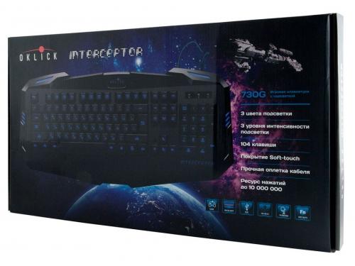 Клавиатура Oklick 730G Black USB, вид 6