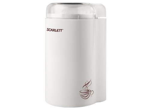 Кофемолка Scarlett SC-CG44501, белая, вид 1